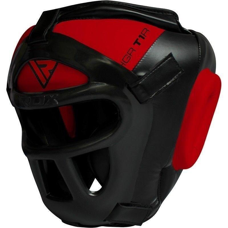 RDX Sports T1 Casque de Boxe  - Extra Large - Rouge