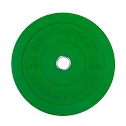 Body-Solid Chicago Extreme  Bumper Plates OBPXCK - 10 kg