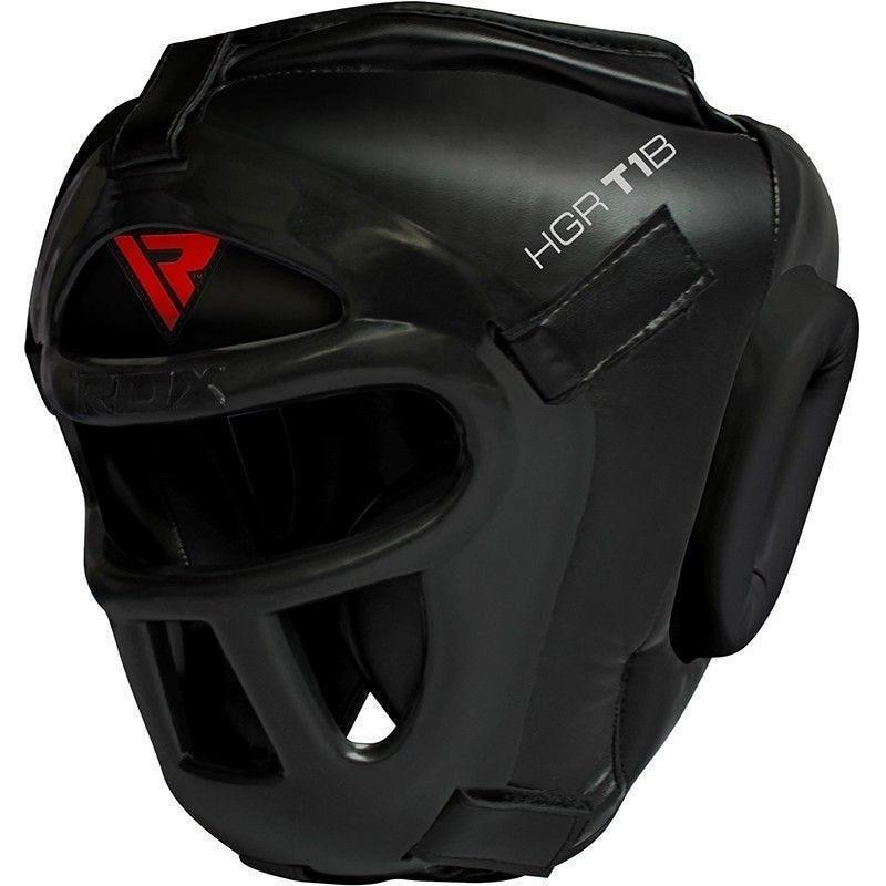 RDX Sports T1 Casque de Boxe  - Medium - Rouge