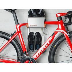 BikeDock Urban Gris - système de suspension vélo de course