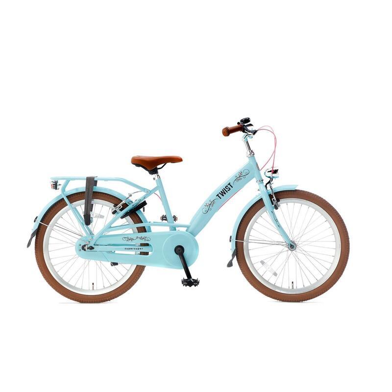 Vélo pour enfants Supersuper Twist - Filles - 22 pouces - Turquoise
