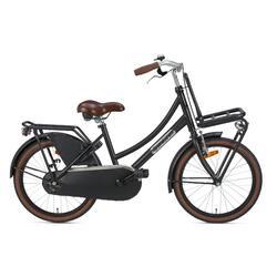 Popal Daily Dutch Basic Kinderfiets - 20 inch - Mat Zwart