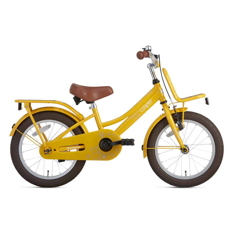Vélo Enfant Supersuper Cooper Bamboo - 16 pouces - Jaune