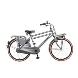 Vélo pour enfants Popal Daily Dutch Basic - 24 pouces - Titane