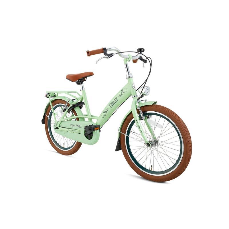 Vélo pour enfants Supersuper Twist - Filles - 20 pouces - Pistache