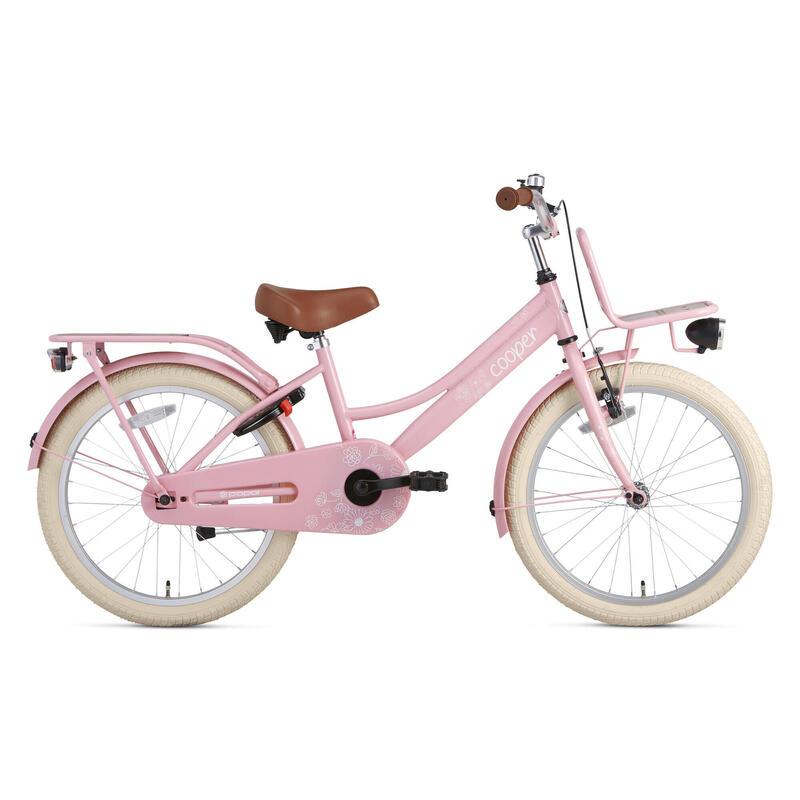 Vélo pour enfants Supersuper Cooper Bamboo - 20 pouces - Rose