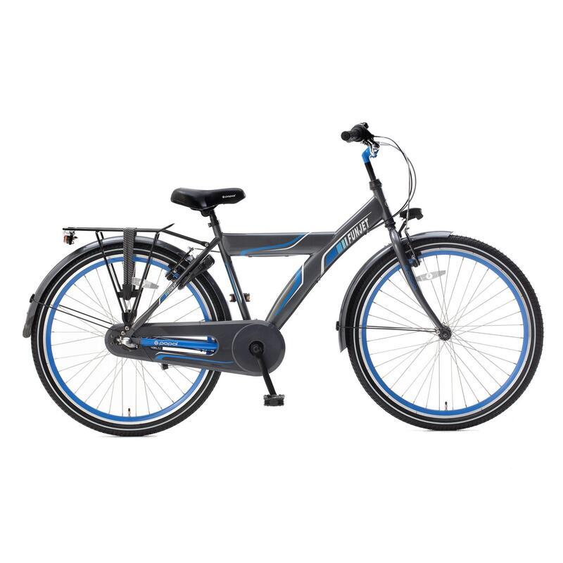 Vélo Enfant Supersuper Funjet N3 - 26 pouces - Bleu / Gris