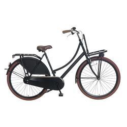Vélo Popal Carrier Ladies - Vélo de transport - 57 cm - Matt Black