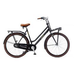 Vélo Popal Nera N3 Ladies - Vélo de transport - 57 cm - Matt Black