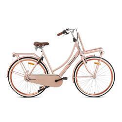 Vélo de transport Popal Daily Dutch Basic+ - Femme - 57 cm - Saumon