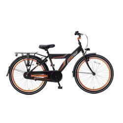Vélo pour enfants Super Super Funjet X - 20 pouces - Noir Mat / Orange