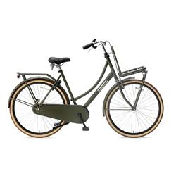 Vélo de transport Popal Daily Dutch Basic - Femme - 57 cm - Vert armée