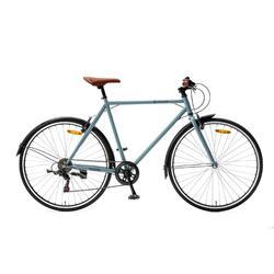 Vélo homme Popal Valther 6 Speed - Vélo de ville - 50 cm - Bleu