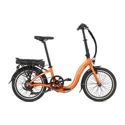 Vélo pliant électrique Popal E-Folt 1.0 - Orange - 20 pouces