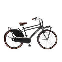 Vélo pour Enfants Popal Daily Dutch Basic+ - 24 pouces - Noir Mat