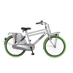 Vélo pour enfants Popal Daily Dutch Basic - 24 pouces - Vert / Gris