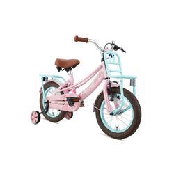 Supersuper Lola Kinderfiets - Meisjes - 14 inch - Turquoise / Roze