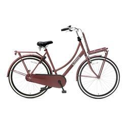 Vélo de transport Popal Daily Dutch Basic - Femme - 57 cm - Rouge