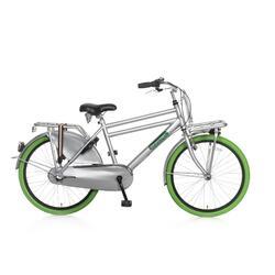 Vélo pour enfants Popal Daily Dutch Basic+ - 24 pouces - Vert / Gris