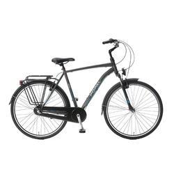 Vélo homme Popal Cityflex - Vélo de ville - 57 cm - Gris