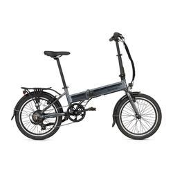 Vélo pliant électrique Popal E-Folt 2.0 - 20 pouces - Gris