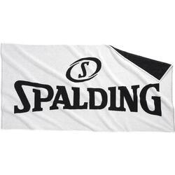 Handdoek Spalding wit/zwart