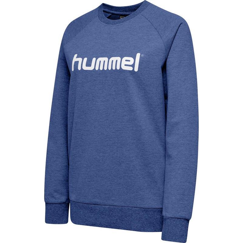 Sweatshirt femme Hummel Cotton Logo