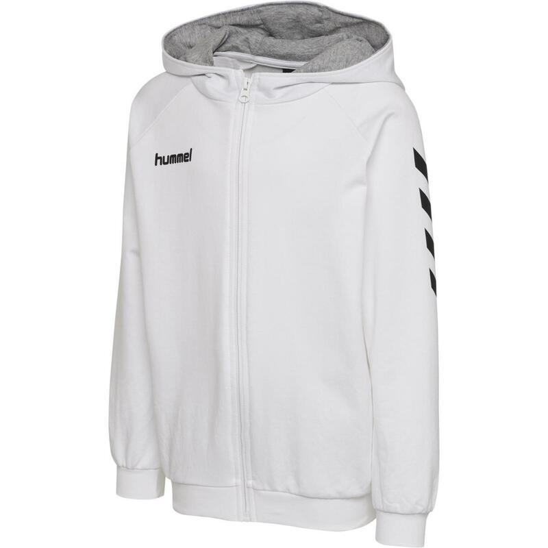 Sweatshirt enfant Hummel Zip Cotton