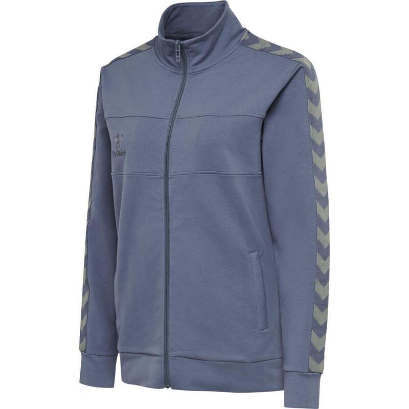 Sweatshirt femme Hummel zip Lmove Classic