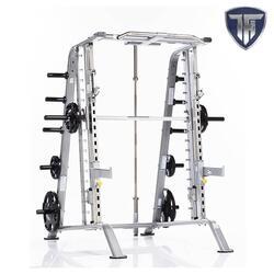 Tuff Stuff CSM-600 Basic Smith Machine/Half Cage Combo