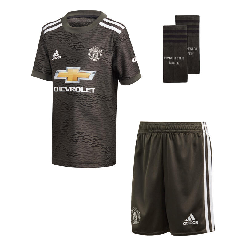 Mini-kit kid extérieur Manchester United 2020/21