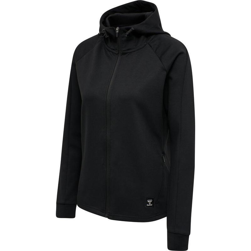 Sweatshirt zippé à capuche Hummel hmlessi