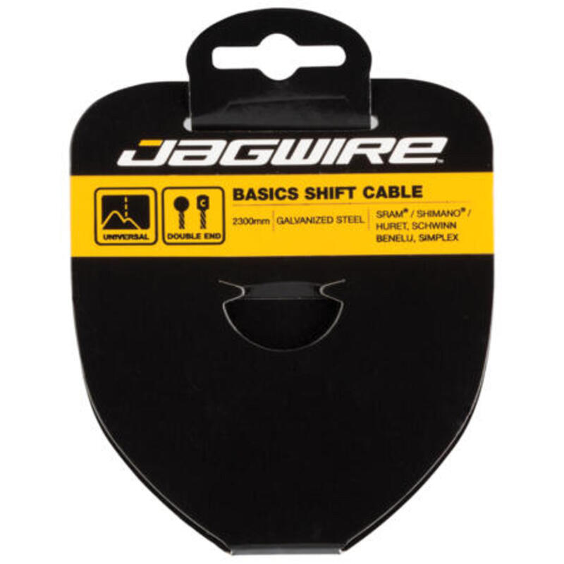 Jagwire Basics Shift Kabel-Gegalvaniseerd-1.2X3050mm-Double Ended-Campagnolo/Hur