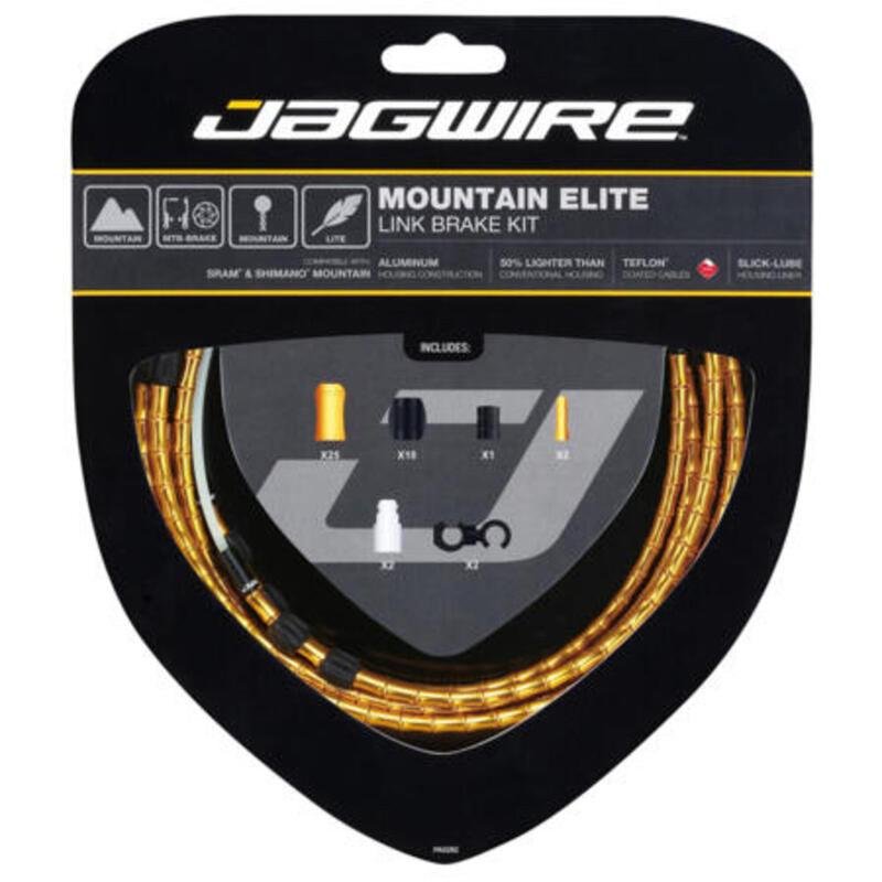 Kit freni Jagwire Mountain Elite Link Brake Kit-Gold