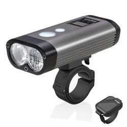 Ravemen PR1600 phare de vélo rechargeable USB DuaLens faisceau HiLo  - 1600Lu