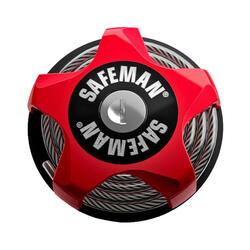Safeman Rouge multifonctionnel antivol de vélo 750mmx4mm