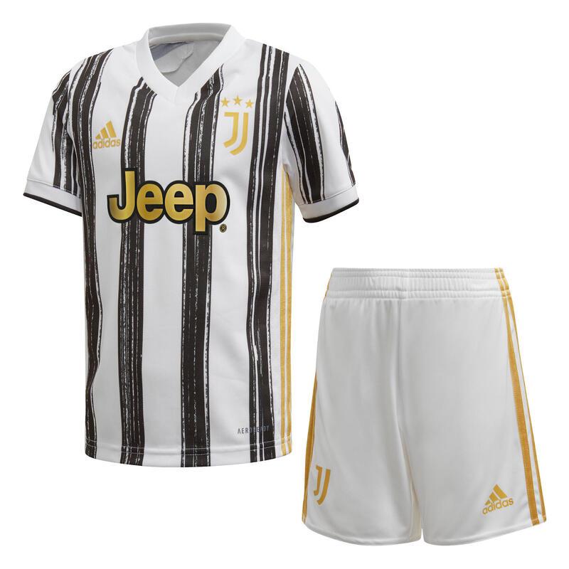 Mini-kit domicile Juventus 2020/21