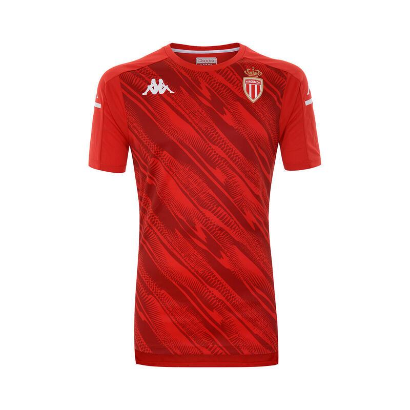 Maillot d'échauffement enfant AS Monaco 2020/21 aboupres pro 4