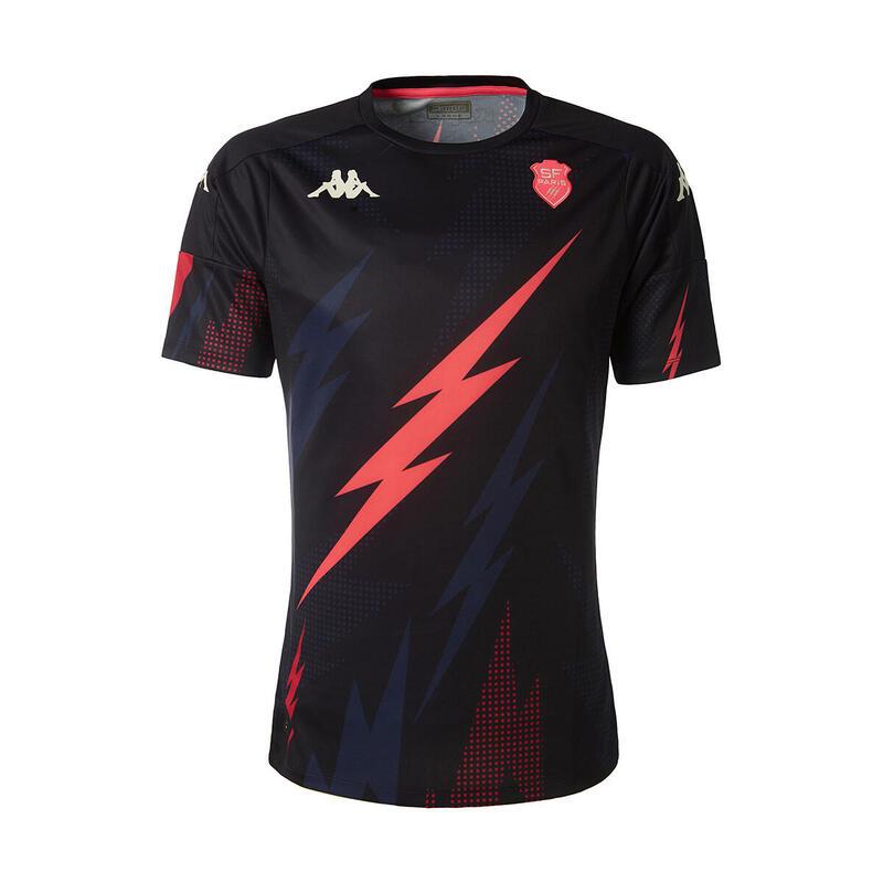 T-shirt échauffement enfant Stade Français 2020/21 aboupre pro 4