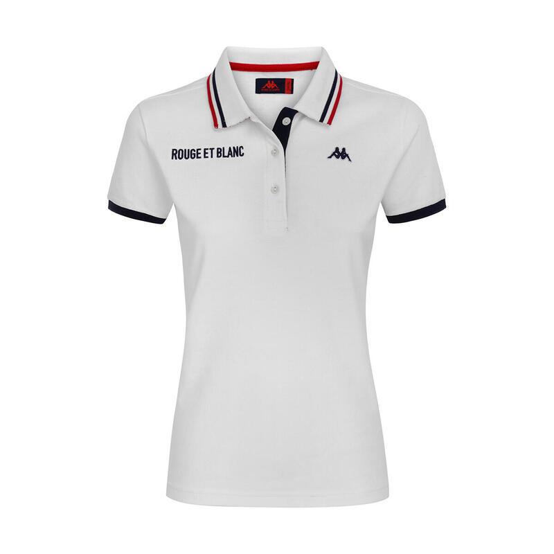 Polo femme AS Monaco 2020/21 blanche