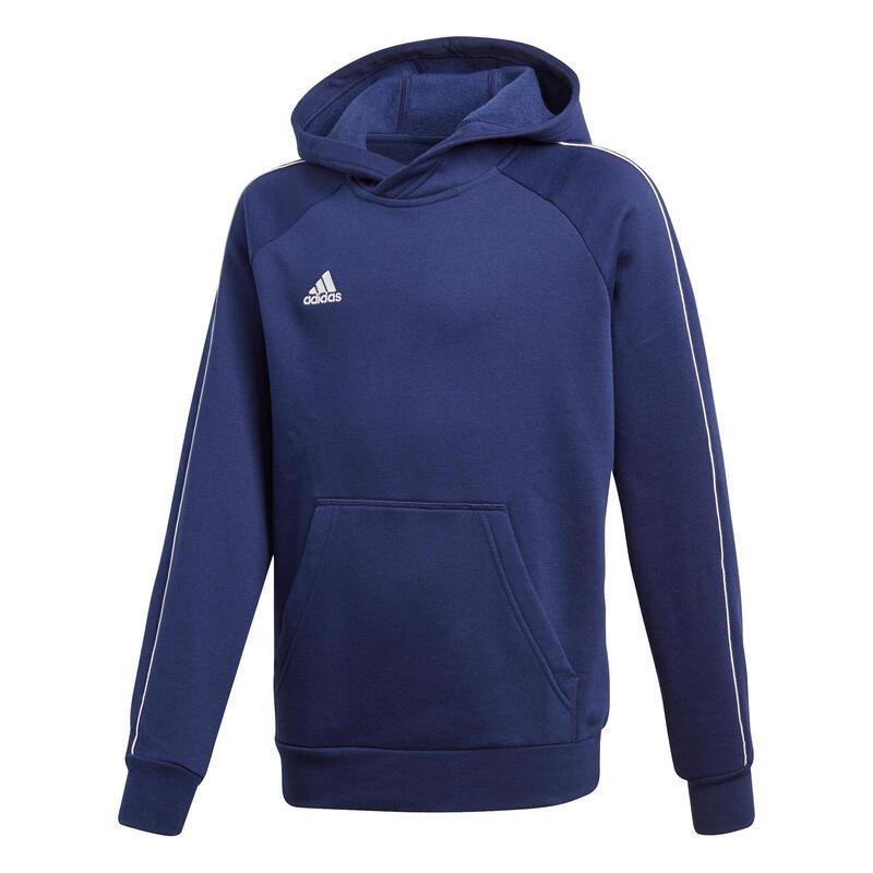 Sweatshirt à capuche enfant adidas Core 18
