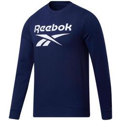 Reebok Identiteit Grote Logo Crew Sweatshirt
