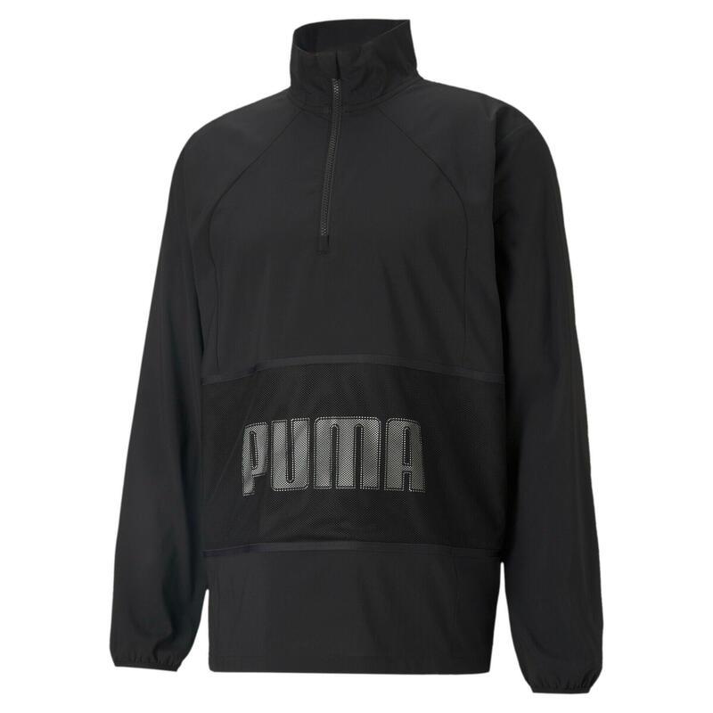 Giacca con mezza zip Puma Train Graphic Woven