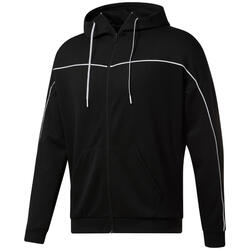 Sweatshirt à capuche Reebok Workout Ready Doubleknit Zip-Up