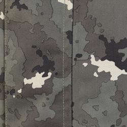 Chaqueta caza 500 impermeable cálida camuflaje island verde