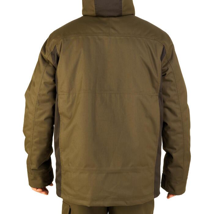 Jagd-Regenjacke 500 warm grün