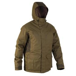 PARKA CHASSE IMPERMEABLE CHAUDE 500 VERT
