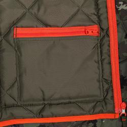 狩獵鋪棉背心100-迷彩綠
