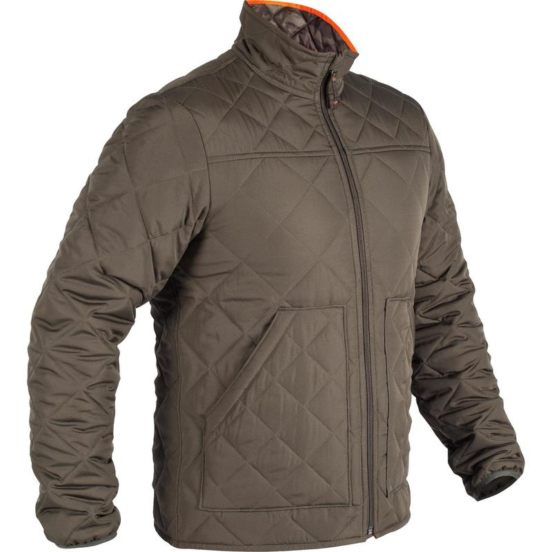 f0a9af2e4a5ef 100 Padded Hunting Jacket - Green | Solognac