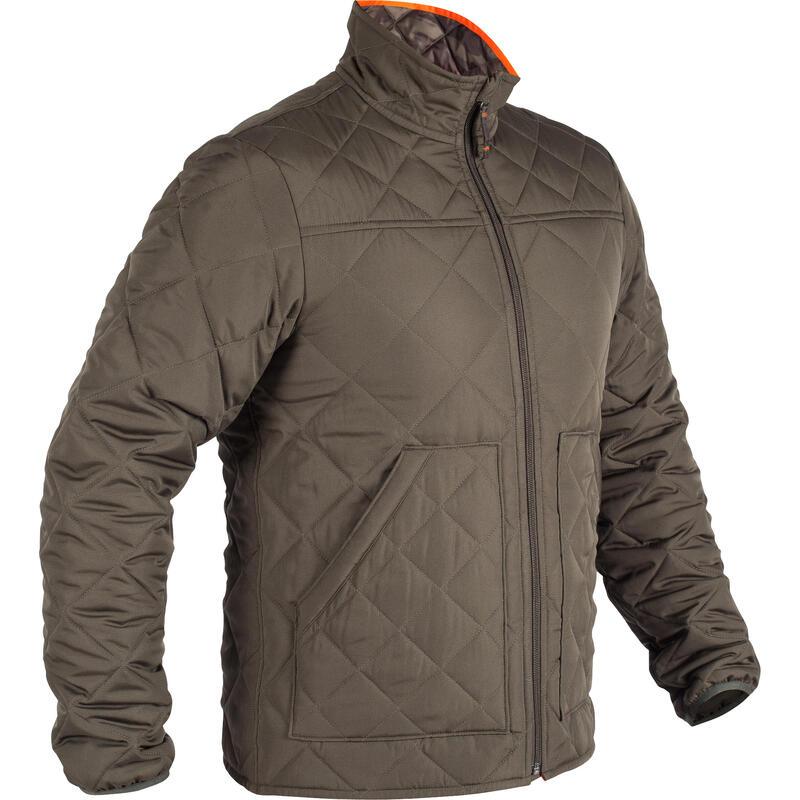 Jachetă 100 matlasată verde Bărbați